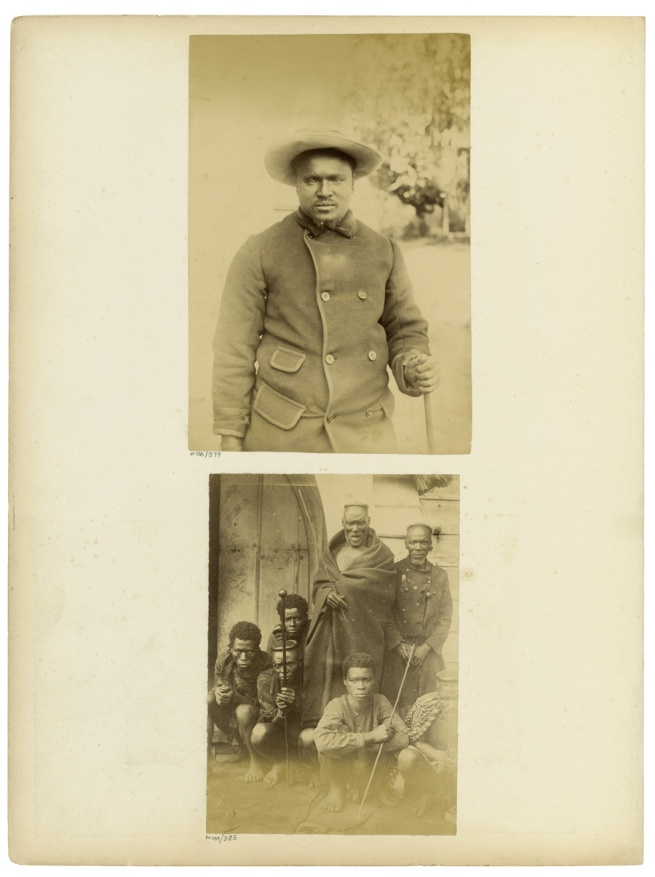 Unidentified photographers. 'Album page' South Africa, late nineteenth century