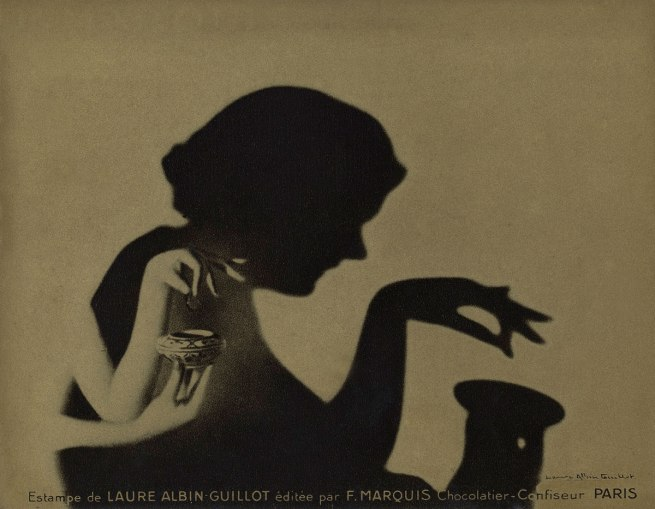 Laure Albin Guillot. 'Estampe pour F. Marquis chocolatier-confiseur, Paris [Print for F. Marquis chocolate maker, Paris]' sans date (without date)