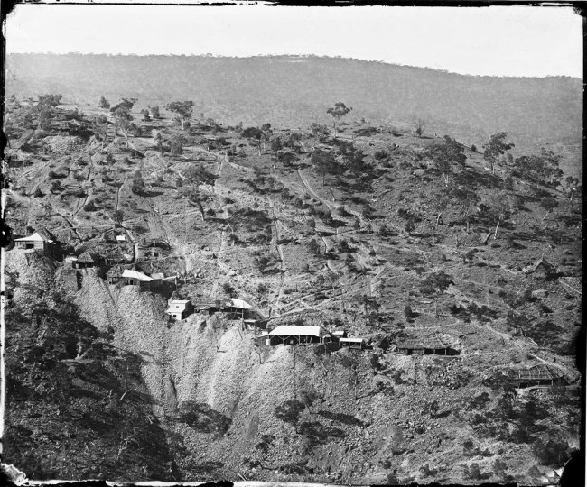 American & Australasian. 'Photographic Company Hawkins Hill 'Golden Quarter Mile'' 1872