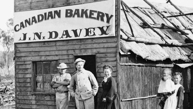 Charles Bayliss. 'John Davey, baker' 1872 (detail)