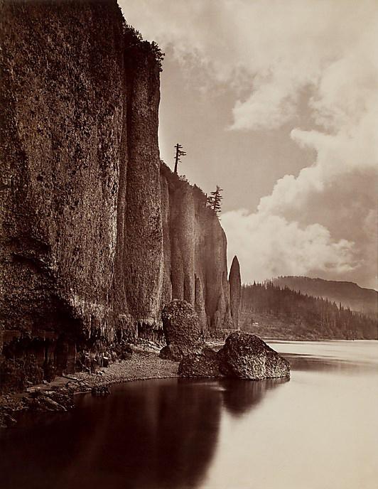Carleton E. Watkins (American, 1829–1916) 'Cape Horn, Columbia River, Oregon' 1867