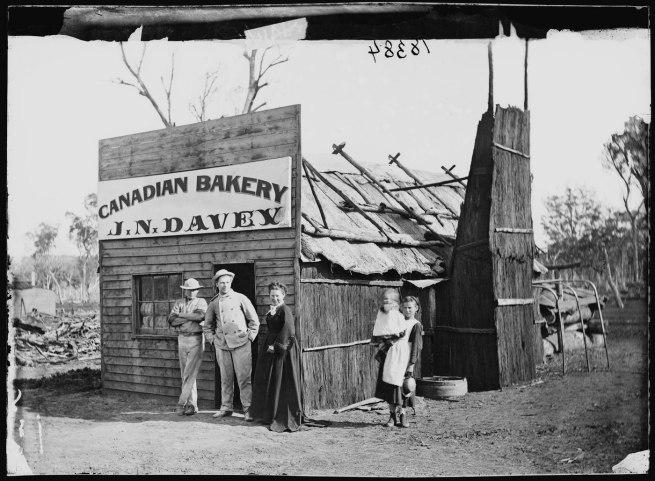 Charles Bayliss. 'John Davey, baker' 1872