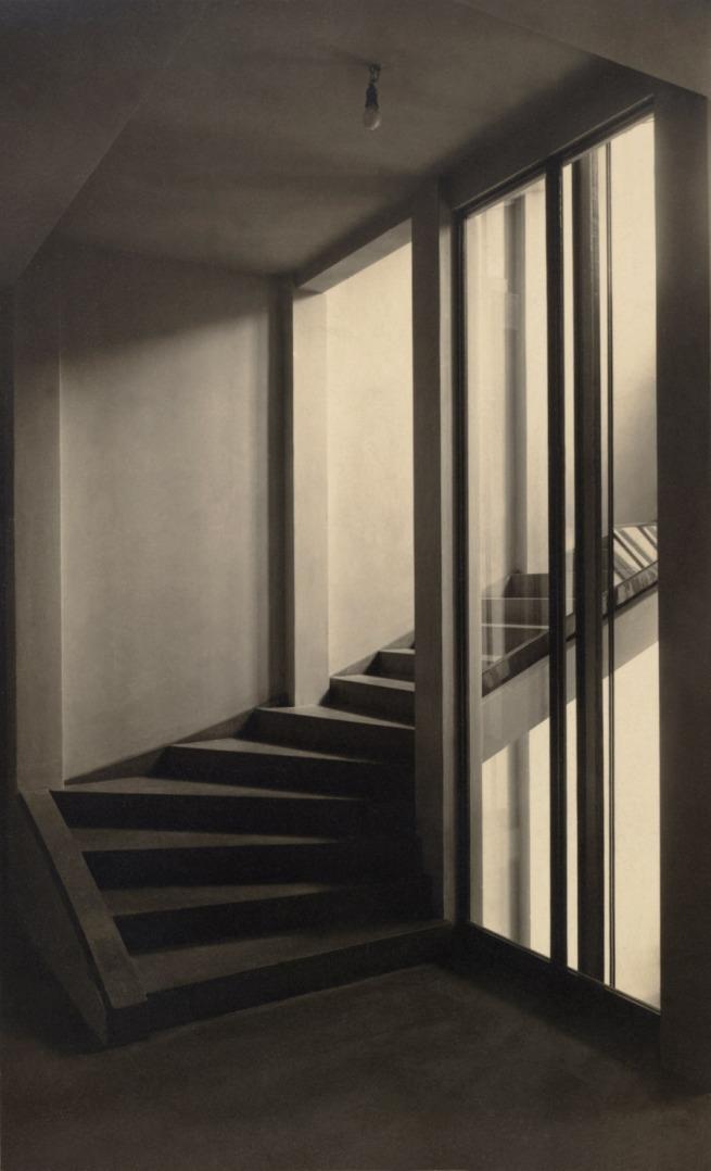 Moriz Nähr. 'Stiegenhaus im Haus Stonborough-Wittgenstein' 1928