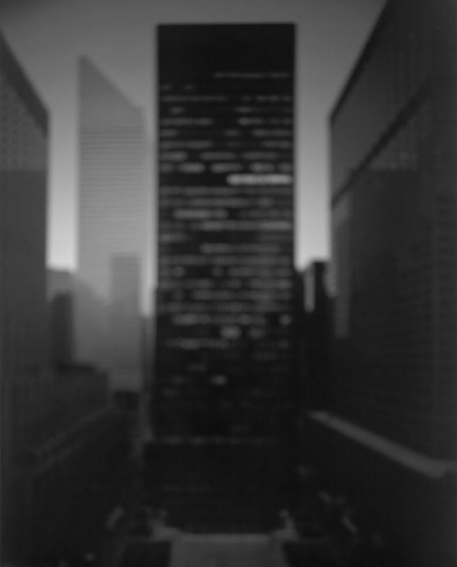 Hiroshi Sugimoto. 'Seagram Building, New York City' 1997