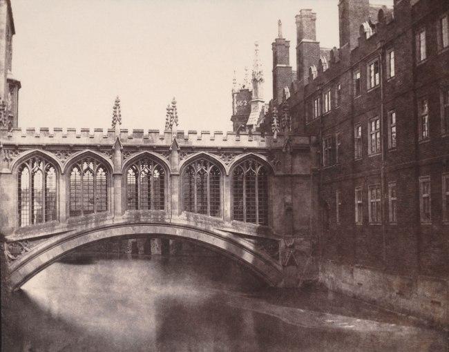 William Henry Fox Talbot. 'The Bridge of Sighs, St. John's College, Cambridge' 1845