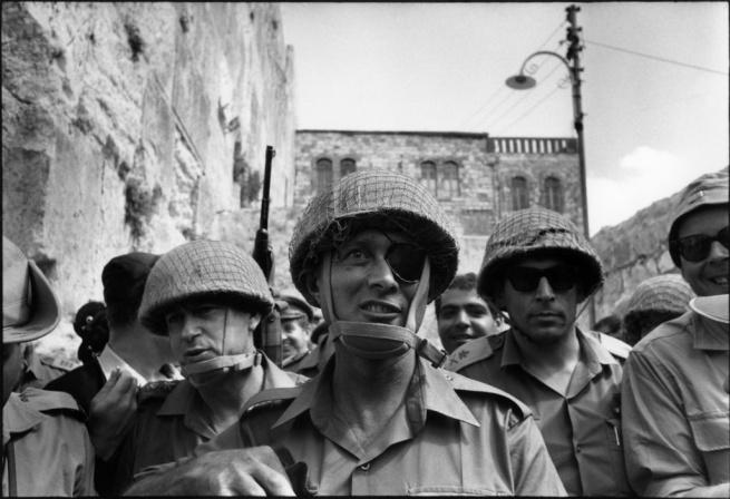 Gilles Caron. 'General Moshe Dayan June 1967' 1967