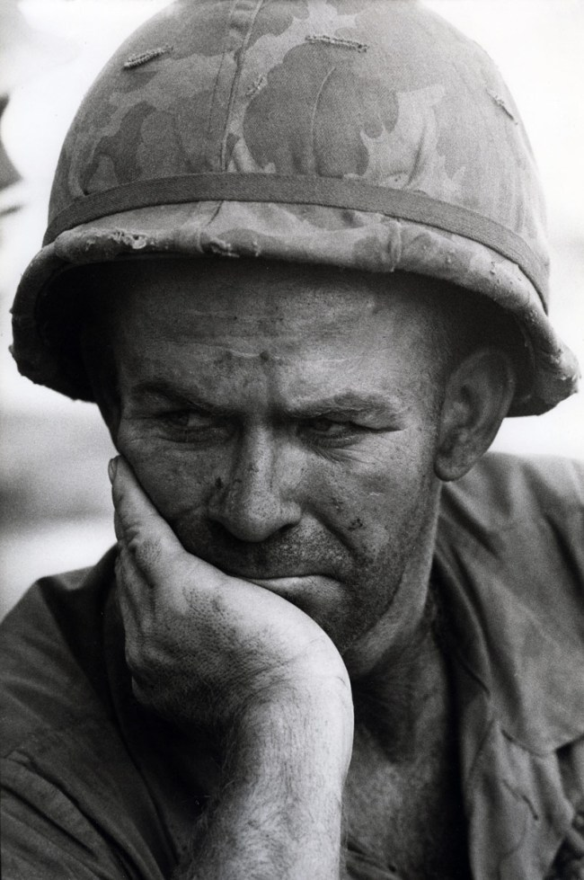 Gilles Caron. 'Battle of Dak To, Vietnam, November - December 1967' 1967