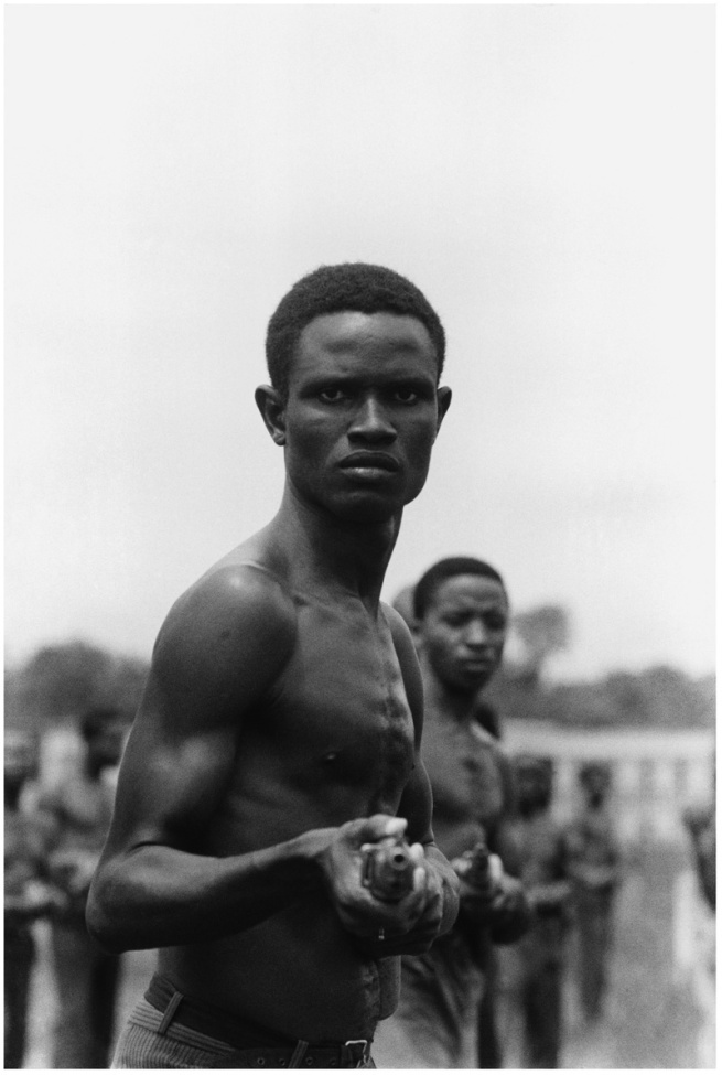 Gilles Caron. 'Civil War in Biafra, Nigeria, November 1968' 1968