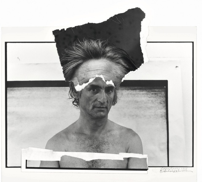 Arnold Newman. 'Larry Rivers, painter, South Hampton, New York' 1975