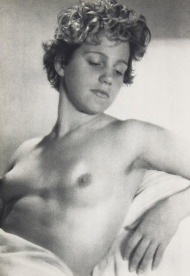 Laure Albin Guillot. 'Nudite de Jeune Femme [Nude of a Young Woman]' c. 1950