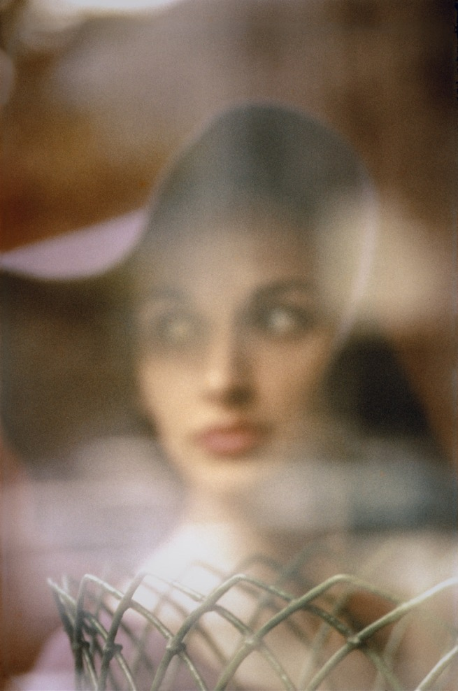 Saul Leiter. 'Carol Brown, 'Harper's Bazaar'' c. 1958