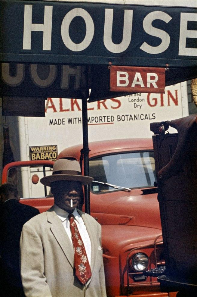 Saul Leiter. 'Harlem' 1960