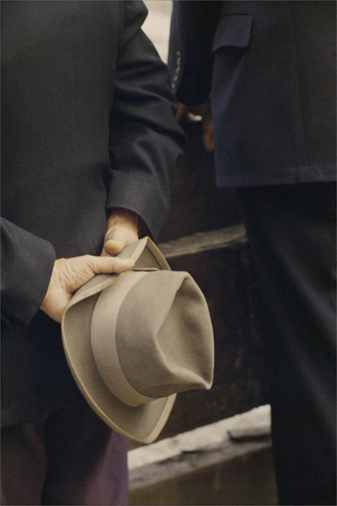 Saul Leiter. 'Hat' 1956
