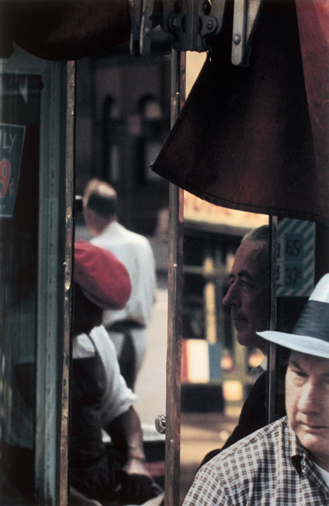 Saul Leiter. 'Reflection' 1958