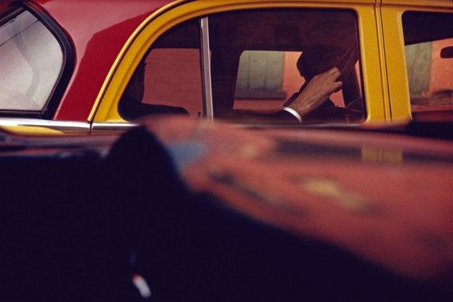 Saul Leiter. 'Taxi' c. 1957