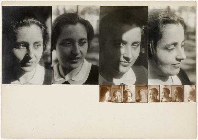 Josef Albers. 'Marli Heimann, Alle während 1 Stunde (Marli Heimann, All During an Hour)' 1931