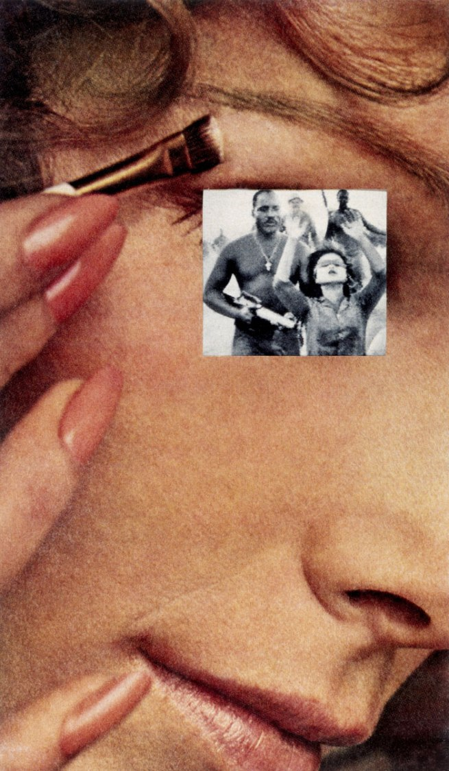 Martha Rosler. 'Hands Up / Makeup' 1967-1972