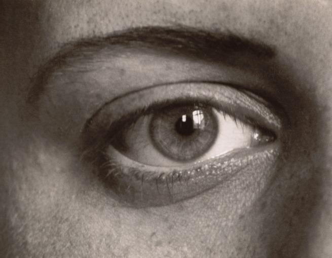 August Sander. 'Das rechte Auge meiner Tochter Sigrid (The Right Eye of My Daughter Sigrid)' 1928