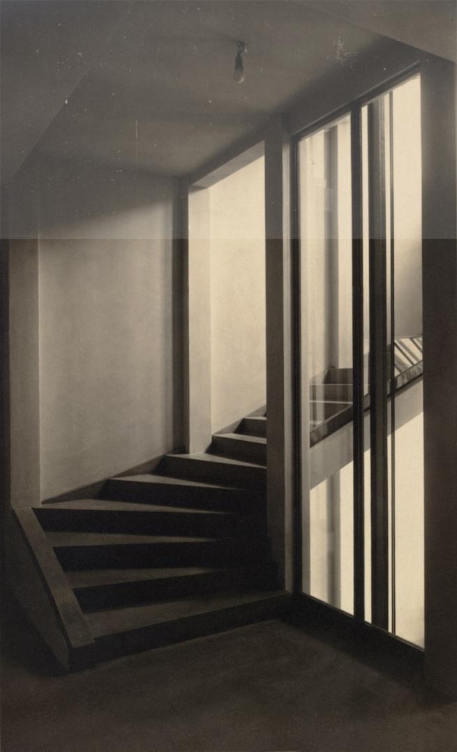 Moriz Nähr(Austrian, 1859-1945) 'Stiegenhaus im Haus Stonborough-Wittgenstein' 1928 (composite)