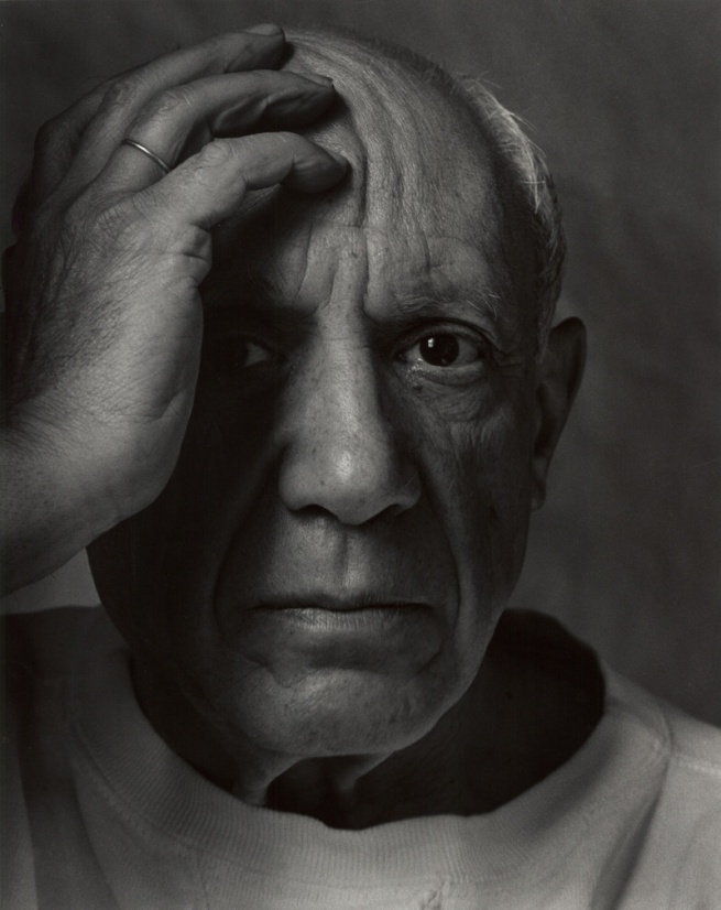Arnold Newman. 'Pablo Picasso, painter, sculptor and printmaker, Vallauris, France' 1954