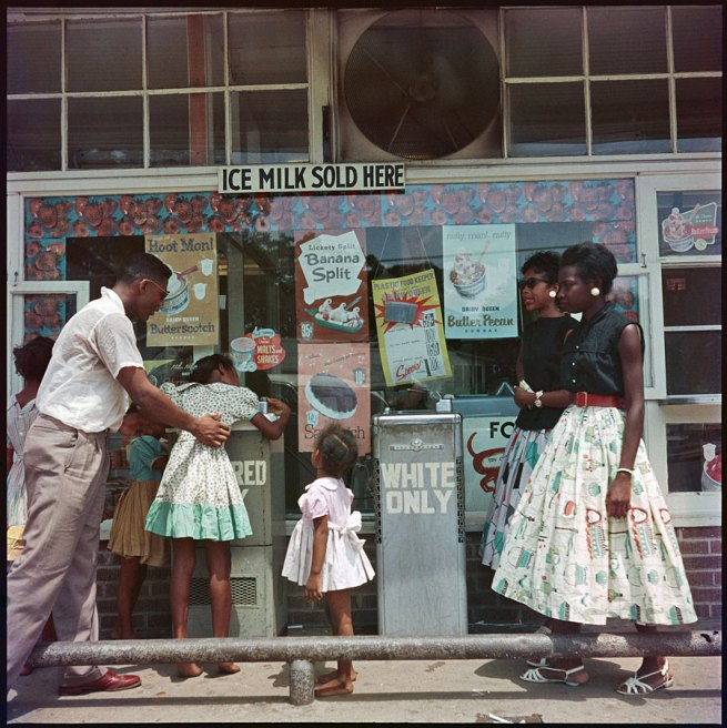 Gordon Parks. 'At Segregated Drinking Fountain, Mobile, Alabama' 1956