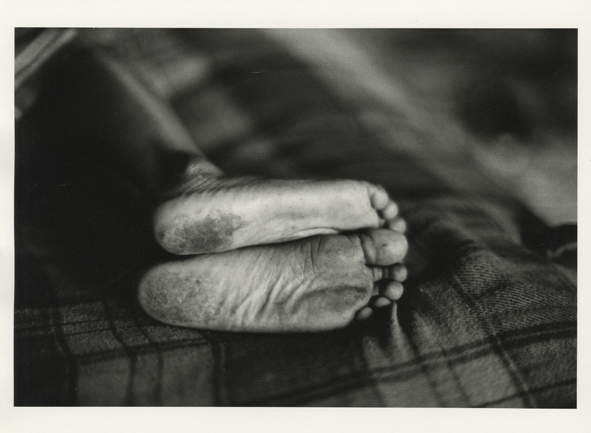Gordon Parks. 'Ellen's Feet, Harlem, New York' 1967