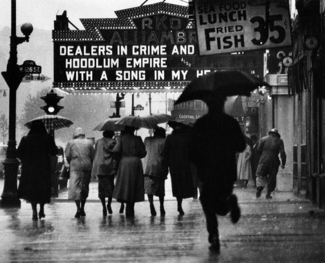 Gordon Parks. 'Harlem Neighborhood, Harlem, New York' 1952