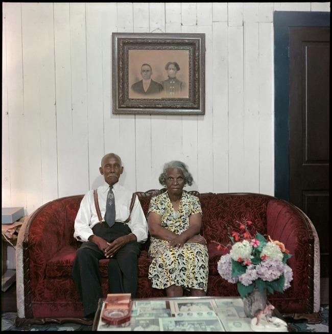 Gordon Parks. 'Mr. and Mrs. Albert Thornton, Mobile, Alabama' 1956