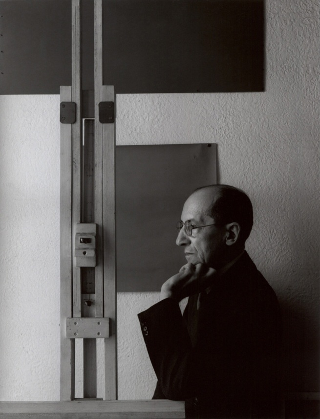 Arnold Newman. 'Piet Mondrian, painter, New York' 1942