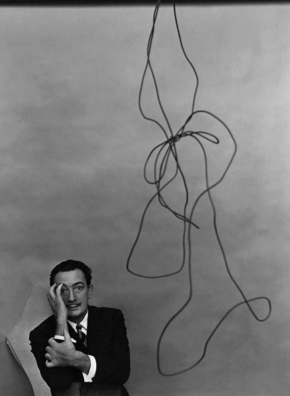 Arnold Newman. 'Salvador Dalí, painter, New York' 1951