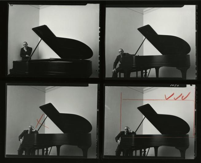 Arnold Newman. 'Igor Stravinsky' 1945