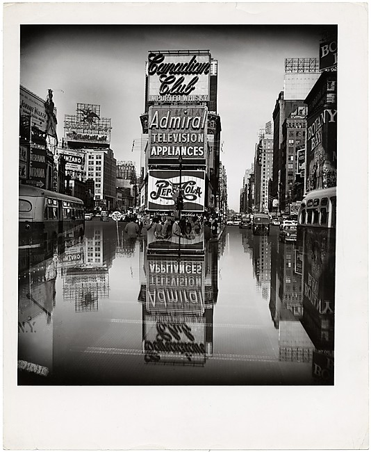 Arthur Felig - Weegee (American, born Hungary, 1899-1968) 'Times Square, New York' 1952-59