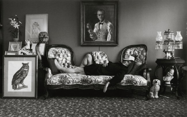 Arnold Newman. 'Truman Capote, writer, New York' 1977