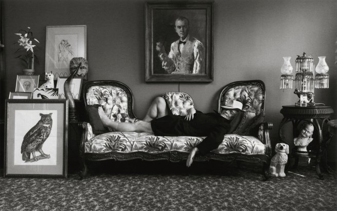 Arnold Newman. 'Truman Capote, writer, New York' 1977