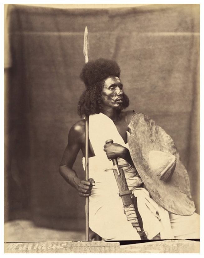 Unidentified photographer. 'Studio photograph of a man' East Africa, late nineteenth century