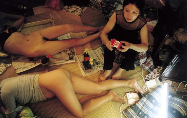 Yang Fudong. 'Shenjia alley. Fairy (1)' 2000