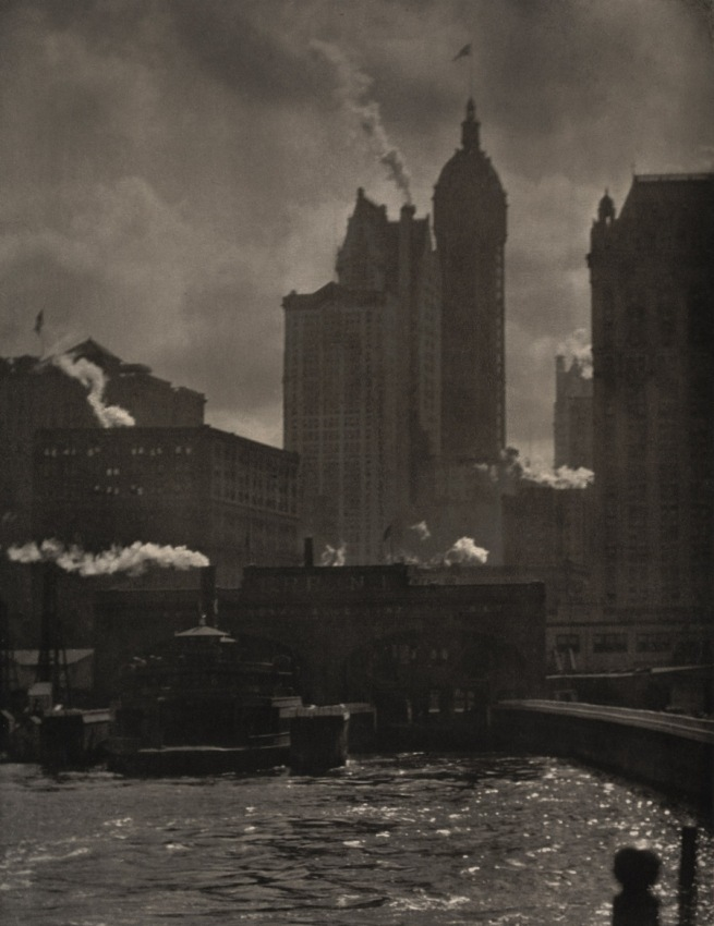 Alfred Stieglitz (American, 1864-1946) 'City of Ambition' 1910