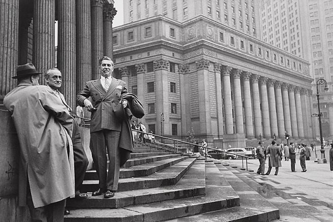 Henri Cartier-Bresson (French, 1908-2004) 'Near the Hall of Records, New York' 1947
