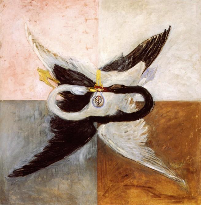 Hilma af Klint. 'The Swan' 1914