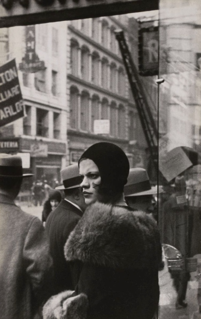 Walker Evans (American, 1903-1975) 'Girl in Fulton Street, New York 1929' 1929