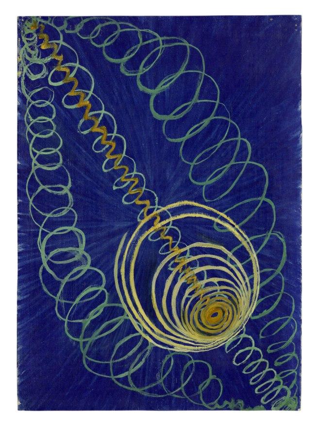 Hilma af Klint. 'Primordial Chaos, No. 16, Group I, The WU/Rose Series' 1906-1907