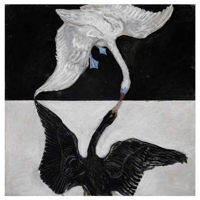 Hilma af Klint. 'The Swan, No. 1, Group IX/SUW, The SUW/UW Series' 1915