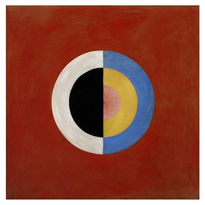 Hilma af Klint. 'The Swan, No. 17, Group IX/SUW, The SUW/UW Series' 1915