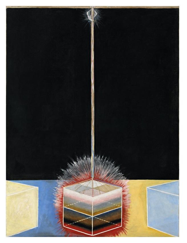 Hilma af Klint. 'The Dove, No. 3, Group IX/ UW, The SUW/UW Series' 1915