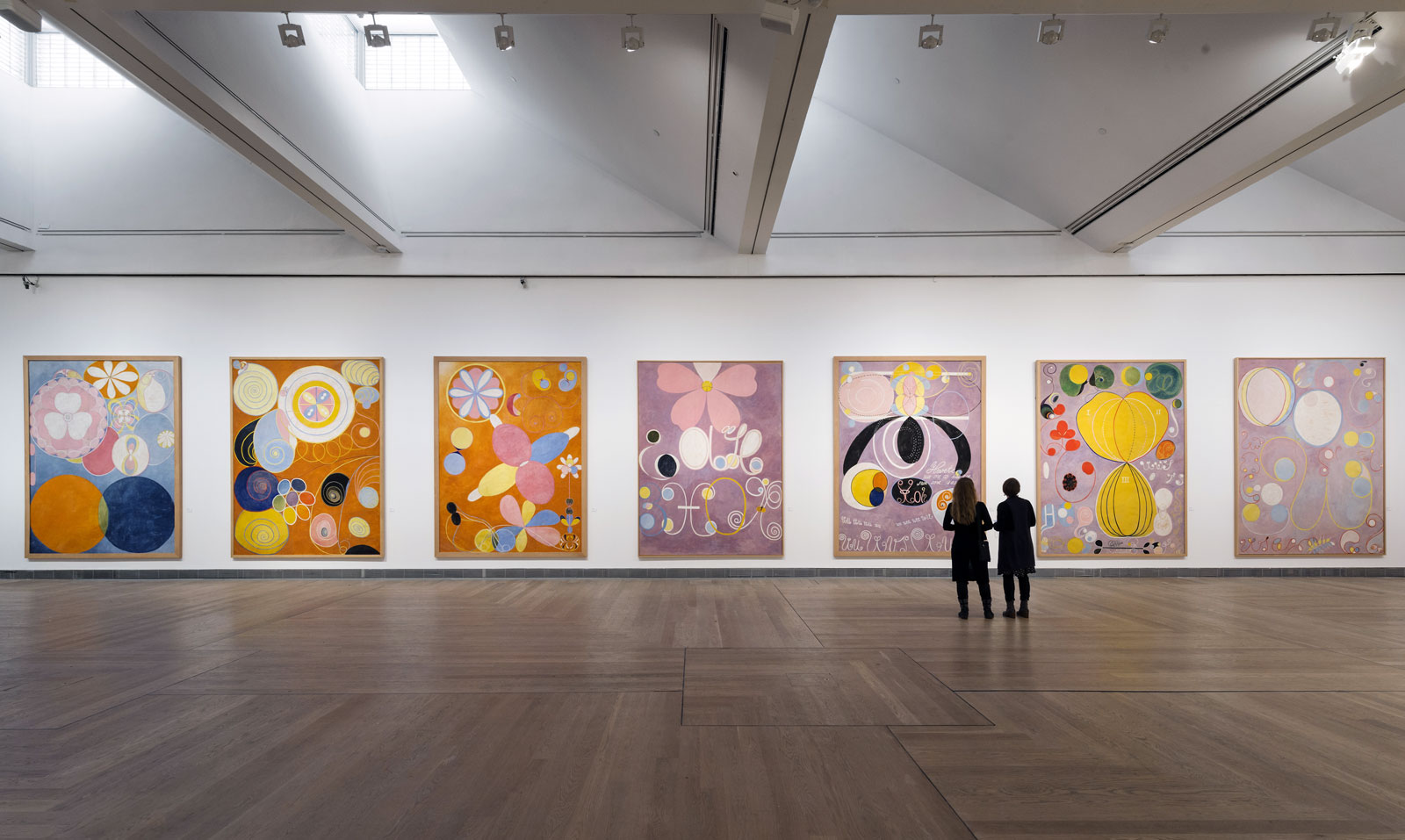 Exhibition hilma af klint a pioneer of abstraction at for Modern art gallery online