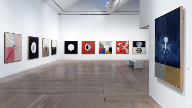 Installation views of Hilma af Klint – A Pioneer of Abstraction, 2013