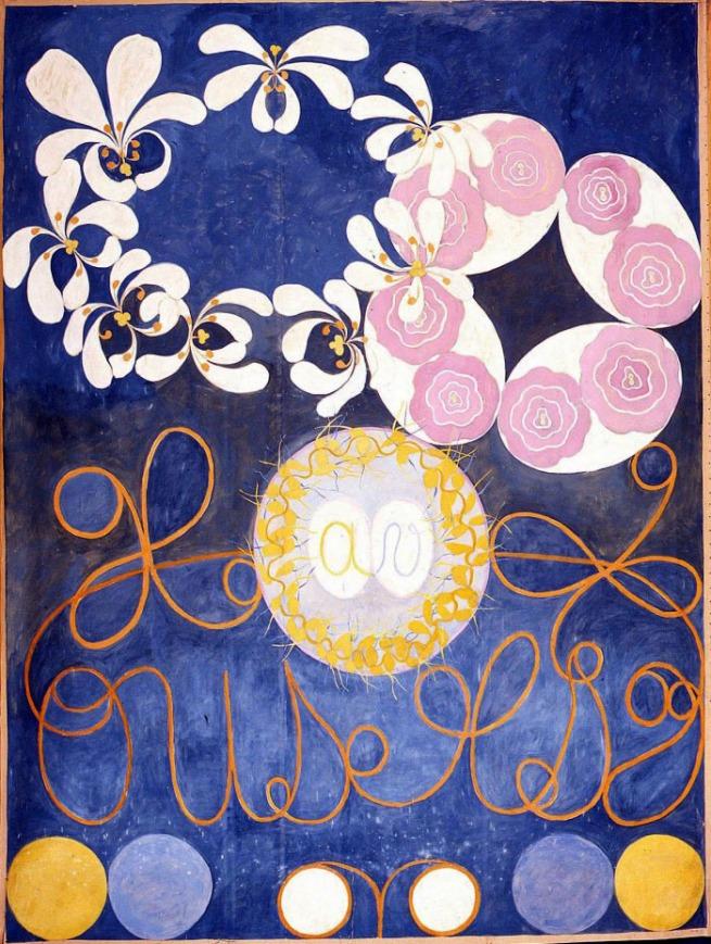 Hilma af Klint. 'The Ten Largest, No. 1' 1907