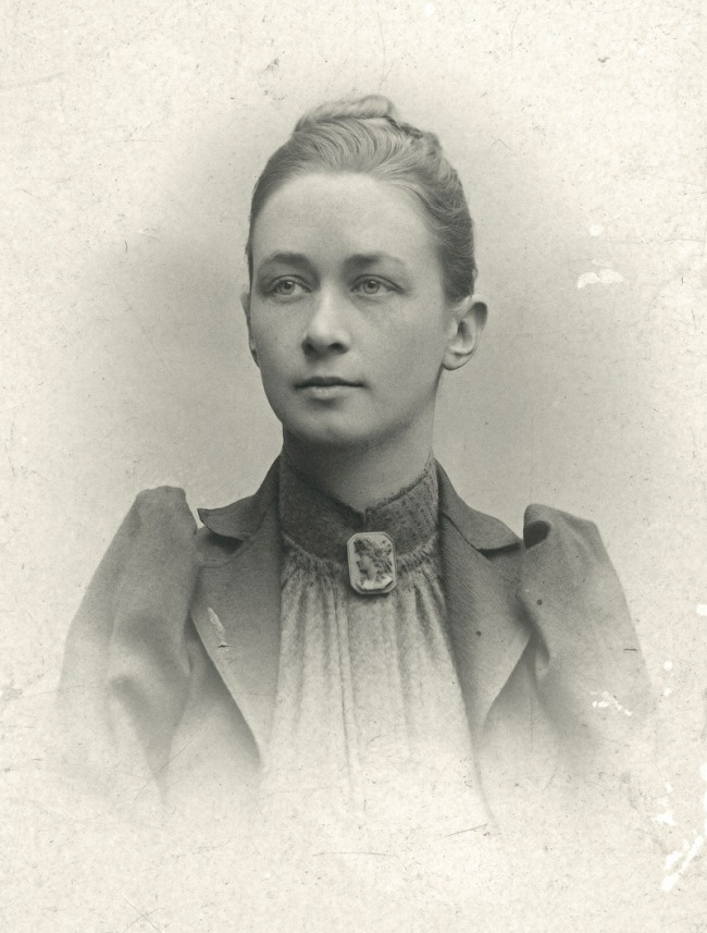 Photographer unknown. 'Portrait of Hilma af Klint' Nd
