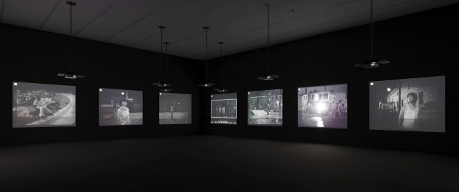 "Installation views of Yang Fudong: ""Estranged Paradise. Works 1993 - 2013"", Kunsthalle Zürich, 2013"