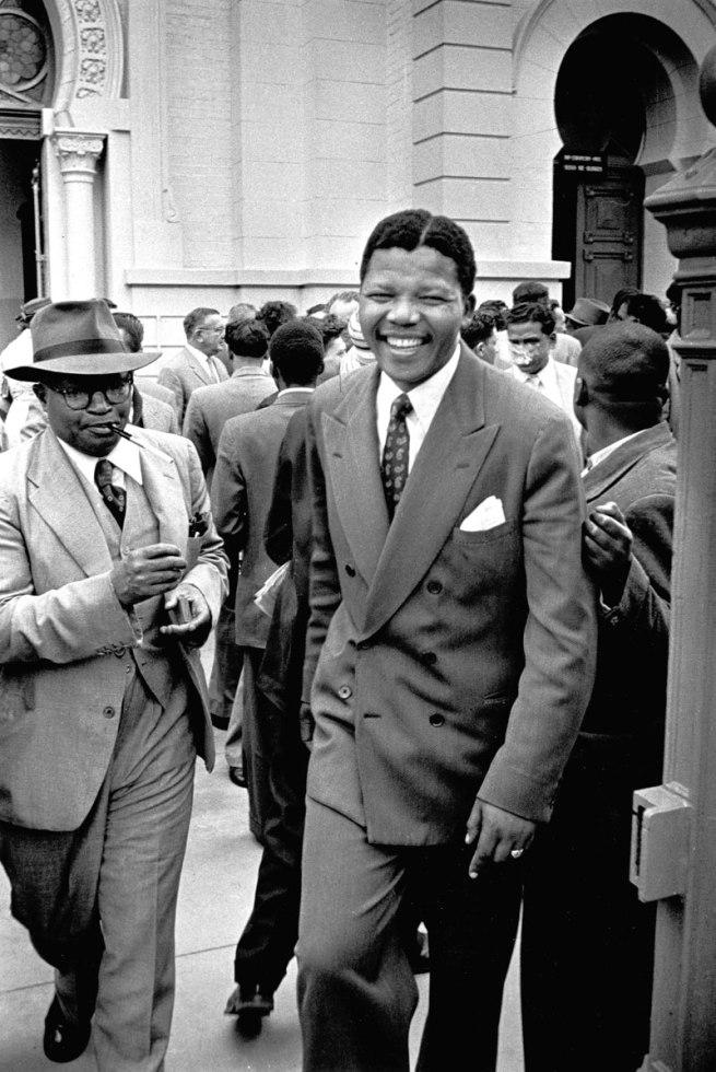 Jurgen Schadeberg. 'Nelson Mandela, Treason Trial' 1958